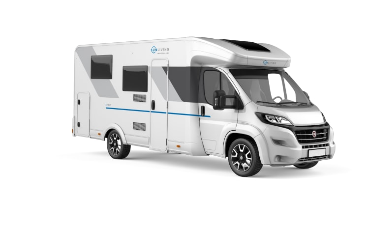Just out of the factory! New, luxurious camper from Sun Living-Prince