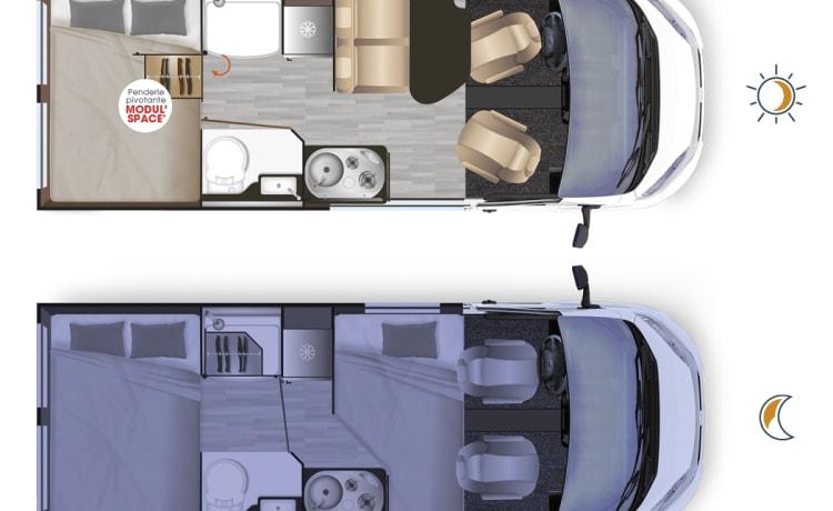 Scoobs – Scoobs, uw weg naar avonturen ... Fiat Ducato 2.3 L