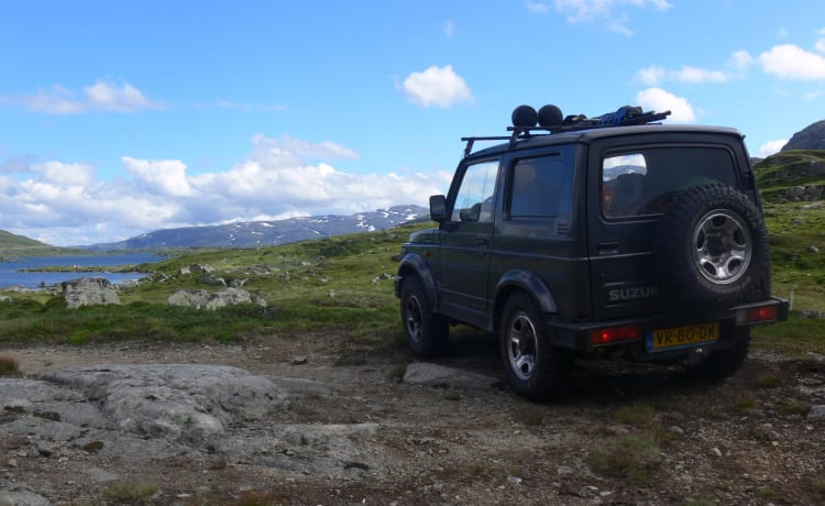 SAMMIE – Tough Suzuki 4x4