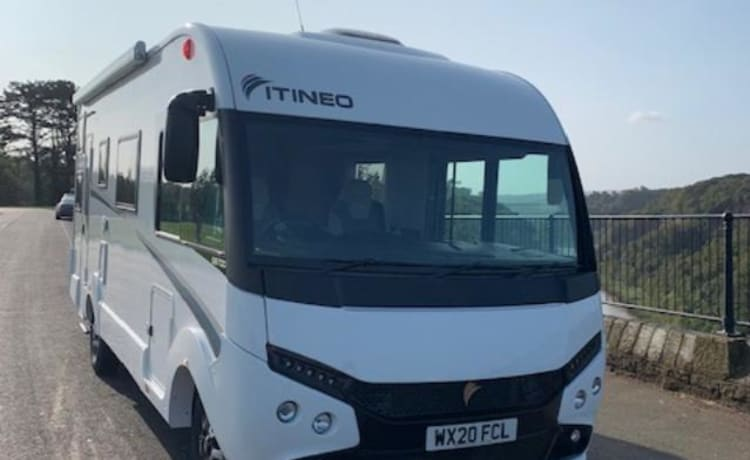 Jumbo – Family Luxury - Glamping op wielen 2020 6 Geboorte A-klasse camper