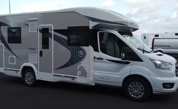 Prachtige nieuwe camper