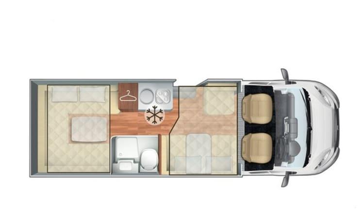 Mollie – Mollie - Luxe op wielen voor 6 personen