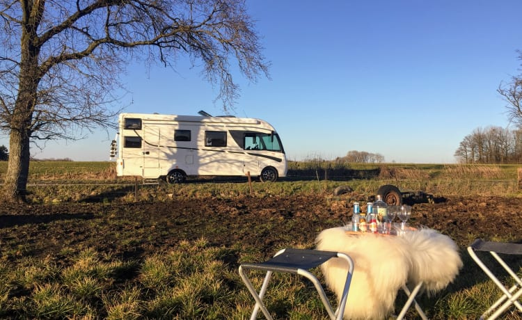 Le Chariot Belge – Spacious family mobile home for 6 people