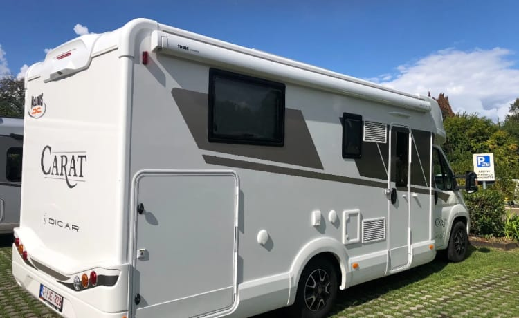 New Luxury Family motorhomes MC LOUIS CARAT 473 5 persons