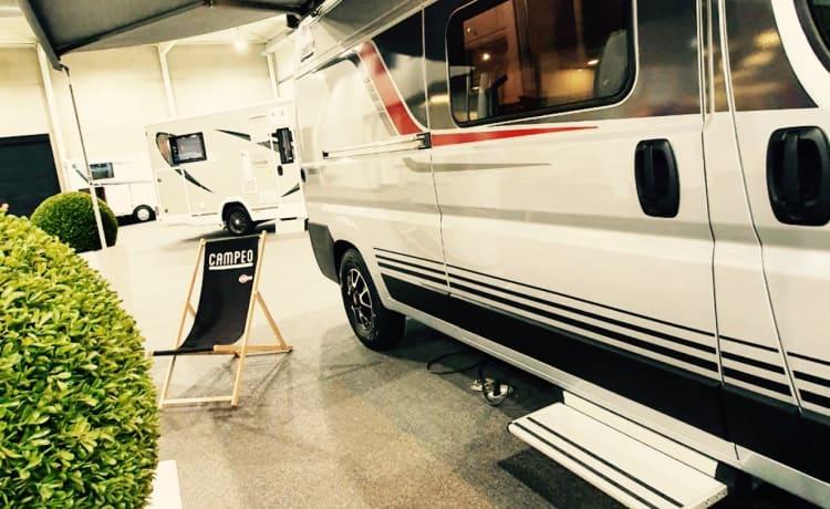 Brand new 4p Bustner full option campervan for the greatest adventures