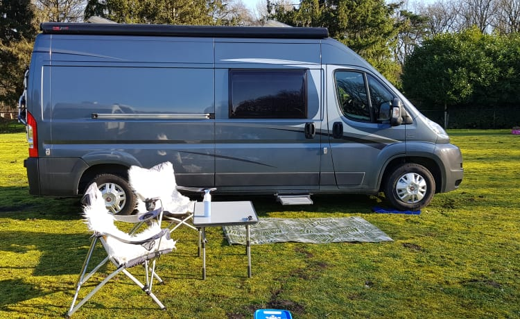 SUPER BUS CAMPER KNAUS BOXSTAR With every comfort