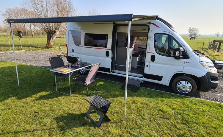 CamperVanSteelant – On a nature adventure with the camper.