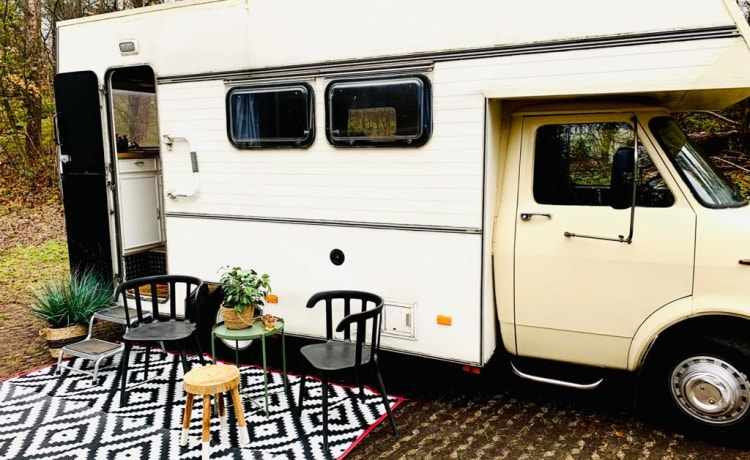 de Baron – Retro camper the Baron