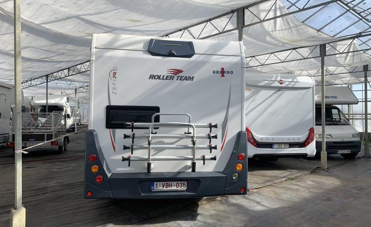 Fiat Ducato 2.3 zefiro 274TL Rollerteam