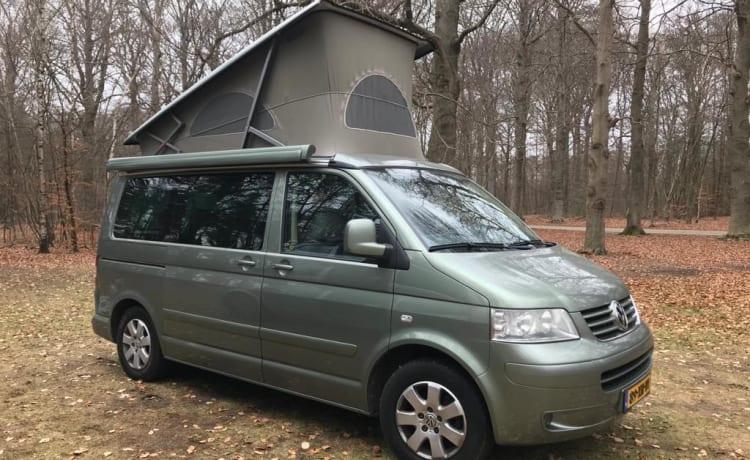 California 4motion – Mooie T5 te huur voor uitstapjes binnen Nederland