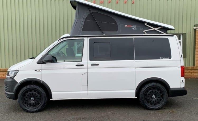 Sam – Luxury VW Campervan With Optional Cinema