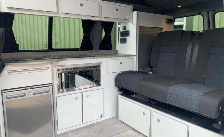 Sam – Onze luxe VW camper