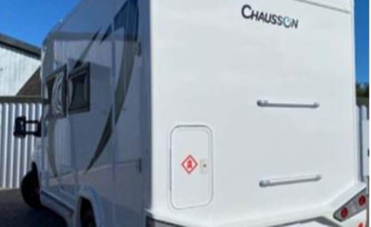 Charbecca –  Brand New 4 Berth  Motorhome  - Chausson 650 Titanium Premium