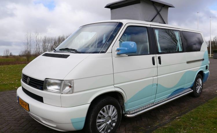 Wad'nbus – Avontuurlijke VW T4 Buscamper