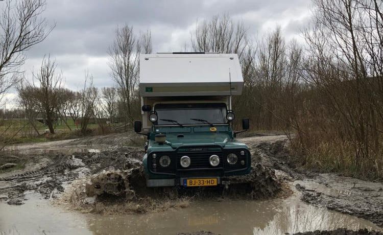 CampRover – Landrover 4x4 expedition camper