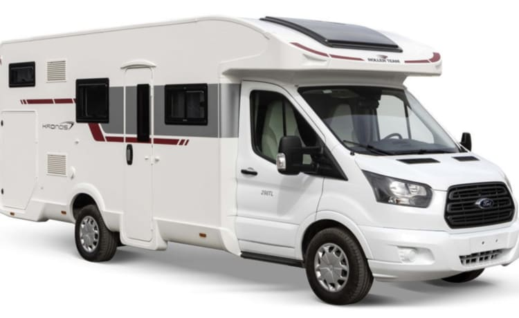 Our brand new Ford Kronos 298TL (Automatic 170 HP)