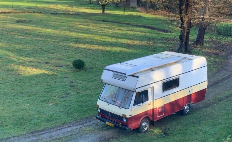Willemientje – Klassieke LT28 camper