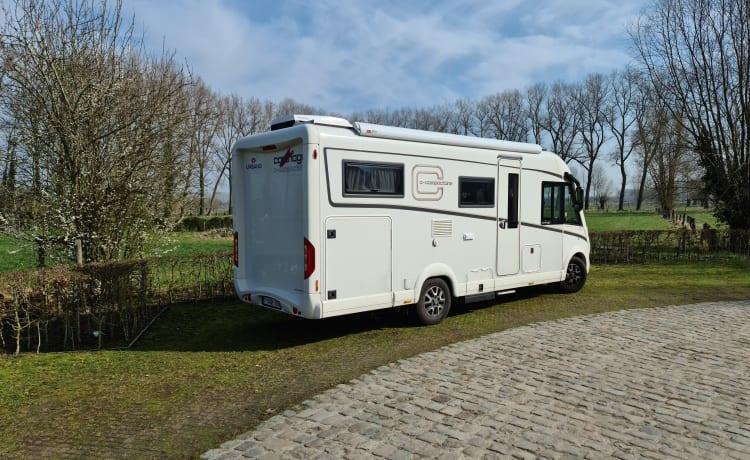 Carthago Compactline 2020. Nieuwe integraal camper.