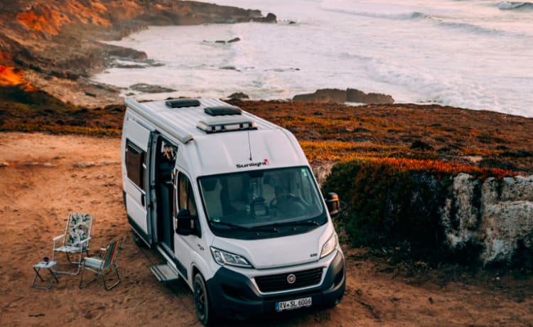 Perfect compact 2 berth 2020 very  comfortable campervan for touring
