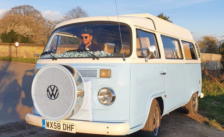 Skye  – Mooie Klassieke VW Camper