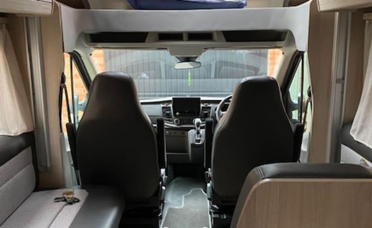 Colin – Autotrail Tribute F70 Automatic 5Berth ALL INCLUSIVE PRICE