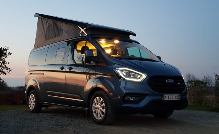 Magicvan: Ford Nugget +, for 4 people