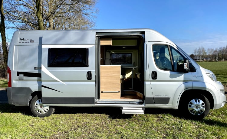 Modern, cozy camper