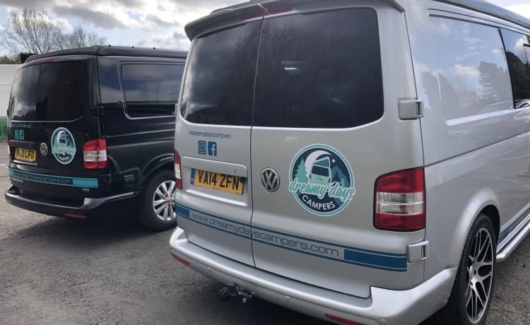Bomber – Meet Bomber our LWB VW Campervan