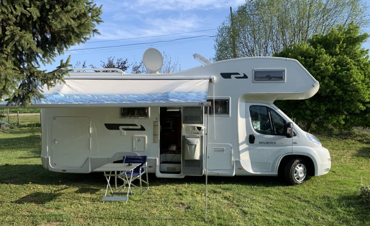 Gianluca  – try an alternative camper holiday