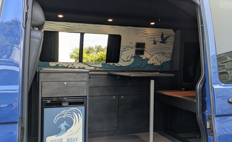 Marvi – VW Transporter Camper van in Cornwall - Brand new conversion