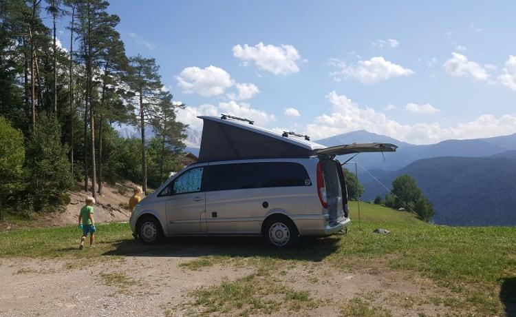 De Vanne – Mercedes Marco Polo, ideal for 2, suitable for 4