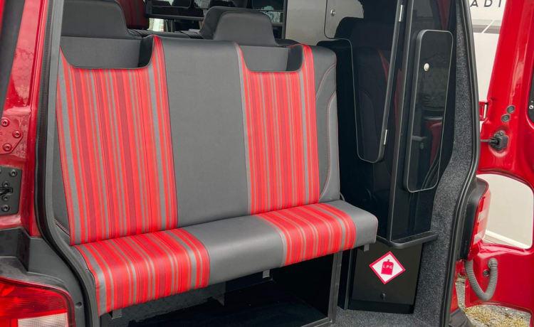 Cool J – VW T6 4 berth Camper Van