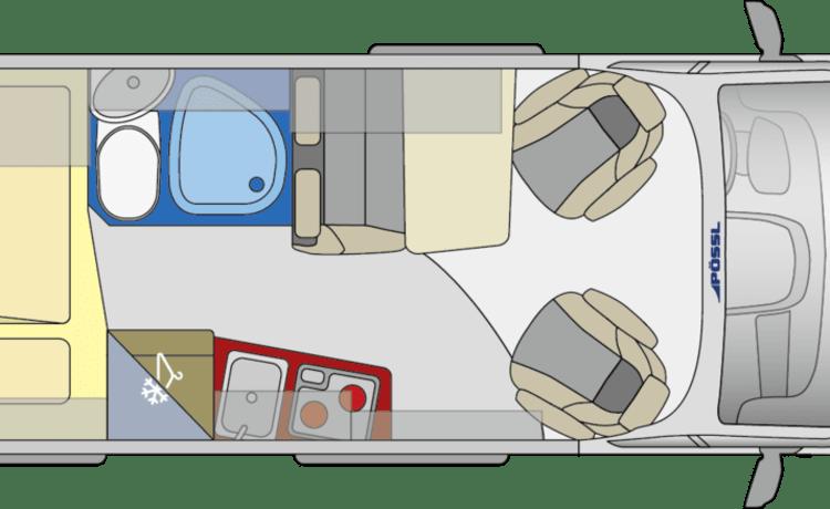 Avontuurlijke campervan - Globescout