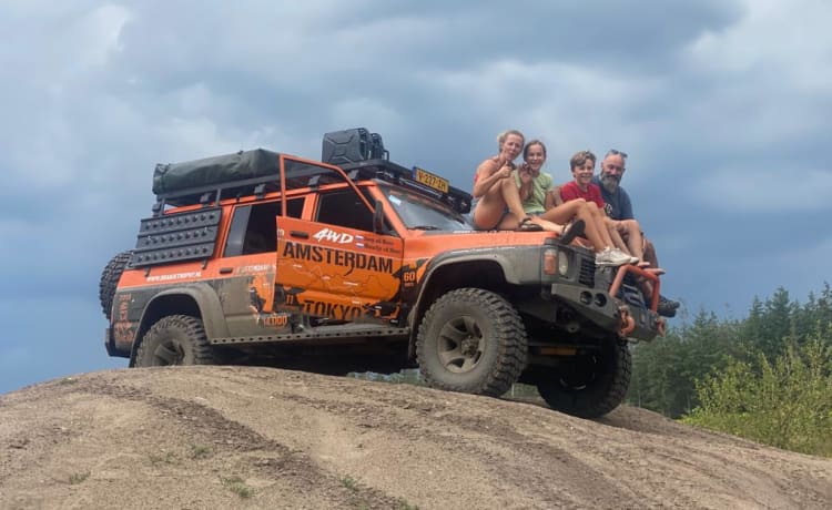 Freedom, off-road, special and extremely strong