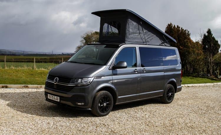 Gloednieuw voor dit seizoen. VW Transporter T6.1 Camper Conversie