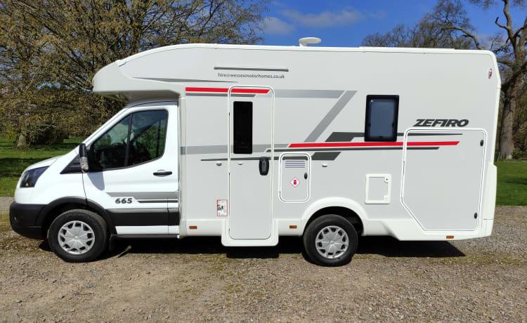 Brand New Rollerteam Zefiro 665 4 Birth Luxury Motorhome