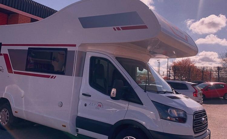 Roller Team Zefiro 690 – Gloednieuwe 2020 6-persoons luxe camper