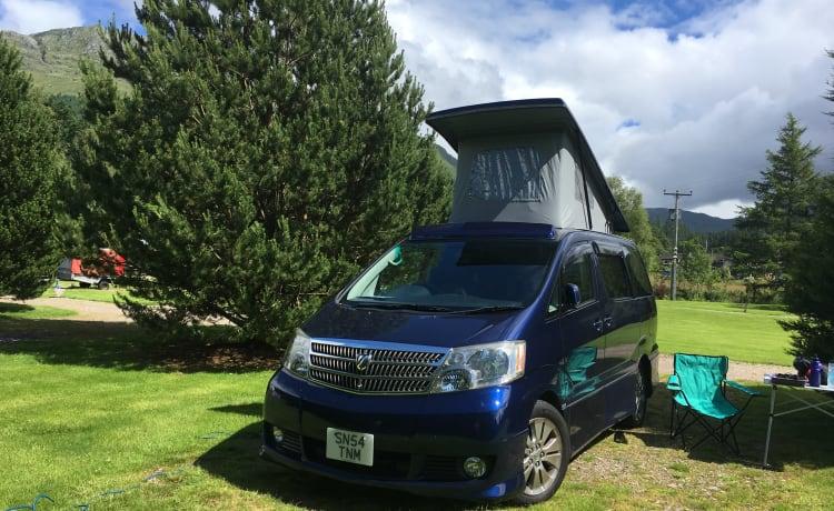 Braveheart – Beautiful automatic Campervan