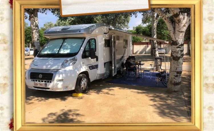 Lowietje – Ruime 4-persoons camper met 150 Pk motor