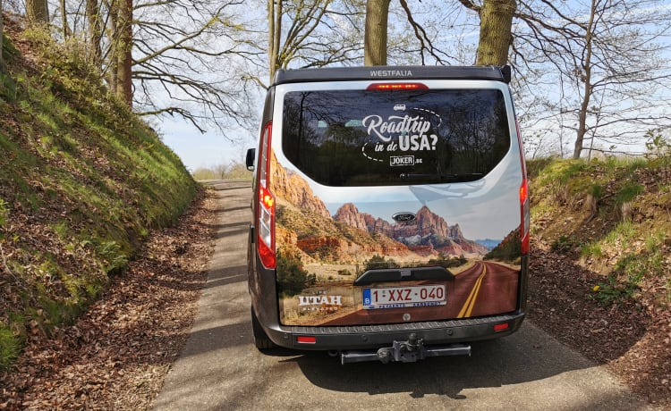 Mighty Five – Rent a campervan Ford Nugget via Goboony (185 HP, year 2020, Westfalia)