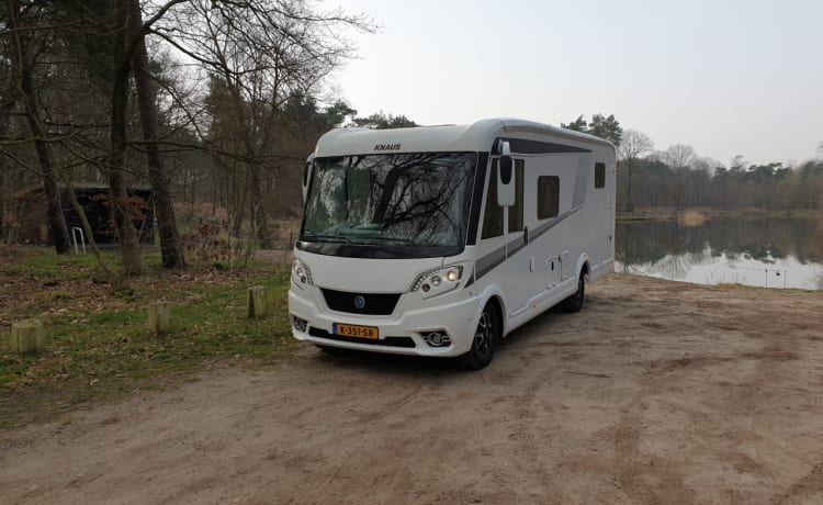 Luxury Knaus Van I 650 MEG del 2018