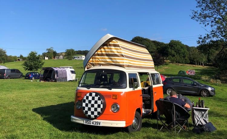 Orla – Orla – Classic VW Camper Van hire in West Sussex
