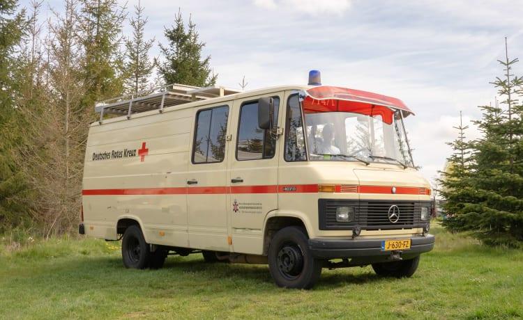 Frans – Rode Kruis ambulance