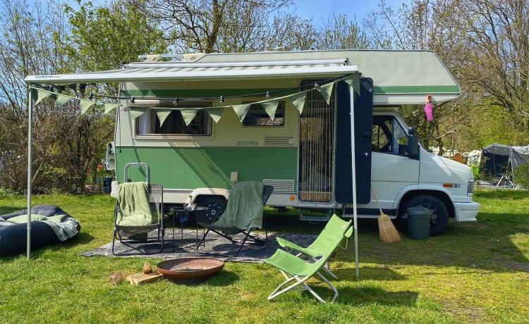 Duuk – Gerestylde retro camper