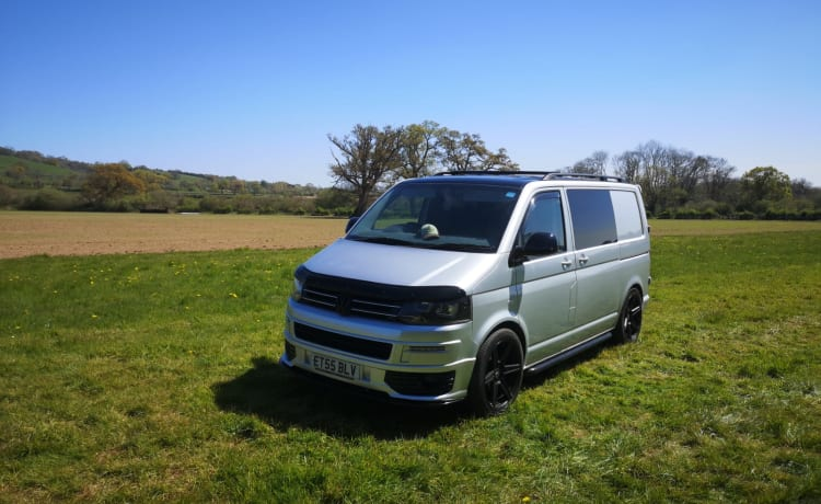 Bobby – Take to the open road in our wonderful VW T5 campervan