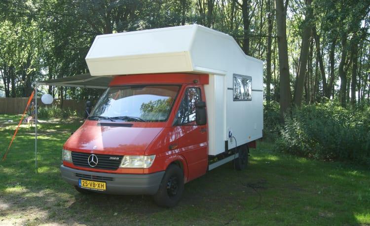 Tough Mercedes camper