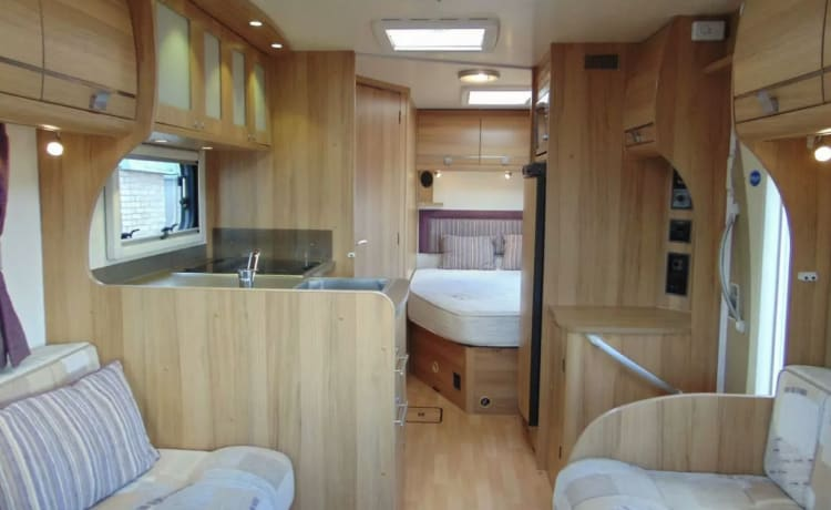Luxe 4-persoons camper