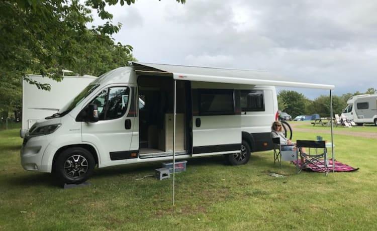 Aza – Roller Team Toleno S extra-long wheelbase 2020 model camper van