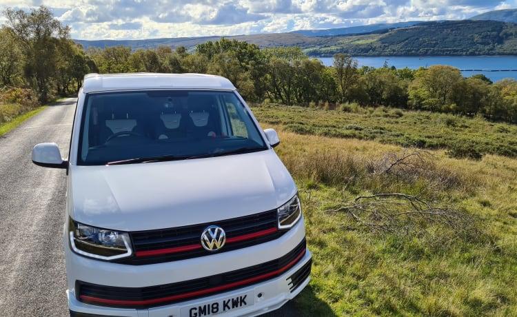 Wallace – High Spec 4 berth VW T6 Camper in Derbyshire