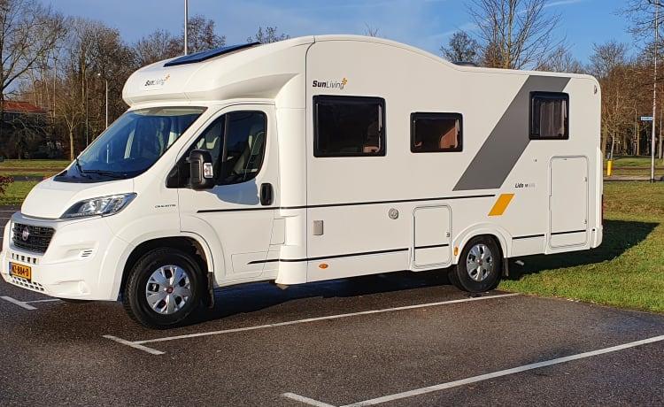 Sun Living M50 SL – Campervakantie met het hele gezin? 5 persoons camper!